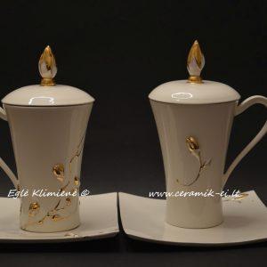 Keraminiai puodeliai Indraja