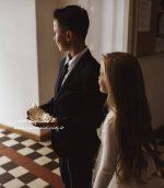 Keramikinis padėkliukas Plunksna vestuvių ceremonijoje